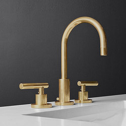 "Sutton Lever-Handle 8"" Widespread Faucet 