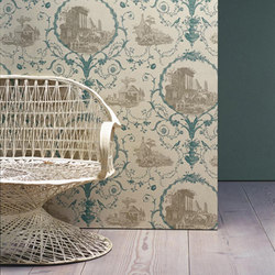 Au Pied Des Ruines | Wall coverings / wallpapers | Zoffany