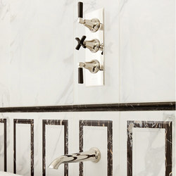Style Modern concealed shower set | Badewannenarmaturen | Samuel Heath