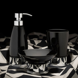 Style Moderne freestanding accessories | Soap dispensers | Samuel Heath