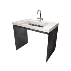 "Contempo 40"" Concrete Sink 