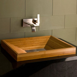 Bamboo SYNC Drop-In Vessel Sink | Lavabos | Stone Forest