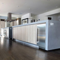 Waterfall Islands | Island kitchens | Trueform Concrete