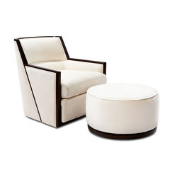 Galileo Swivel Lounge and Ottoman | Loungesessel | Powell & Bonnell