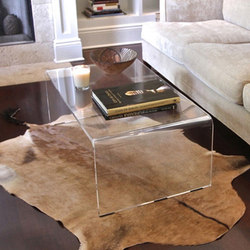 Bel Air Acrylic Cocktail Table | Coffee tables | Pfeifer Studio
