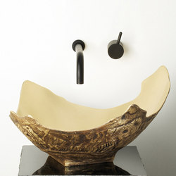 Chalice Vessel Sink, Golden Bronze | Wash basins | Stone Forest