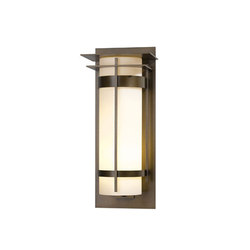 Banded with Top Plate Extra Large Outdoor Sconce | Éclairage général | Hubbardton Forge