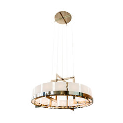 Halo Chandelier | Suspended lights | Powell & Bonnell