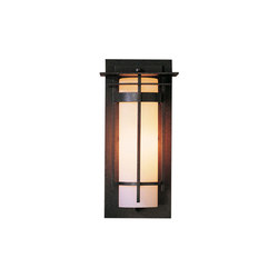Banded with Top Plate Small Outdoor Sconce | Iluminación general | Hubbardton Forge