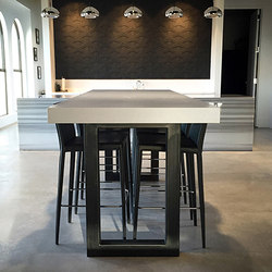 Zen Concrete Dining Table | Tables de repas | Trueform Concrete