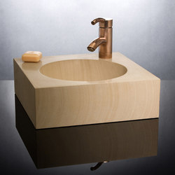 Cirque Vessel Sink, Sandstone | Lavabos | Stone Forest