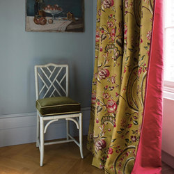 Fleurs Rococo | Tissus pour rideaux | Zoffany