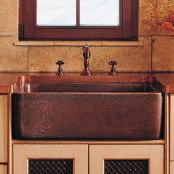 Copper Farmhouse Sink | Fregaderos de cocina | Stone Forest