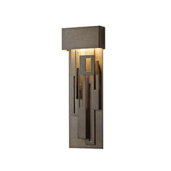 Collage Large LED Outdoor Sconce | Illuminazione generale | Hubbardton Forge