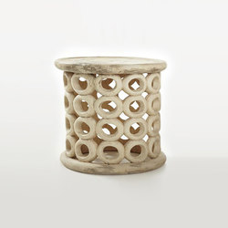 African Bracelet Stool Table | Tables d'appoint | Pfeifer Studio
