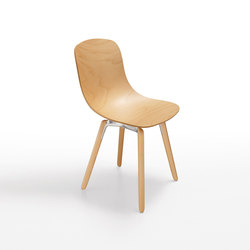 Pure Loop 3D Wood | Visitors chairs / Side chairs | Infiniti Design