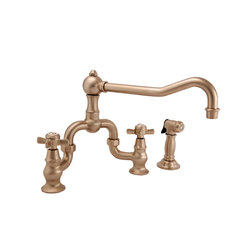 Fairfield Series - Kitchen Bridge Faucet 9451 | Kitchen taps | Newport Brass