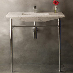 Cortina Console, Carrara marble | Wash basins | Stone Forest