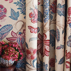 Kalamkari | Curtain fabrics | Zoffany
