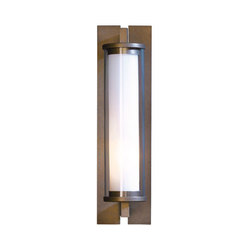 Fuse Outdoor Sconce | Iluminación general | Hubbardton Forge