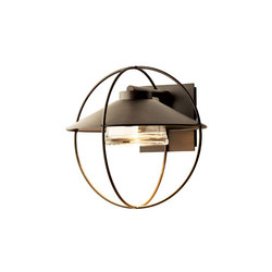 Halo Small Outdoor Sconce | Illuminazione generale | Hubbardton Forge