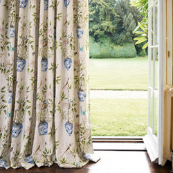 Romey's Garden | Tissus pour rideaux | Zoffany