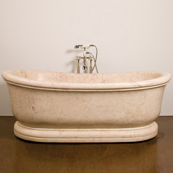 Old World Bathtub, Rosalia Marble | Freistehend | Stone Forest