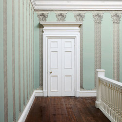 Intaglio Pillar | Wallcoverings | Zoffany