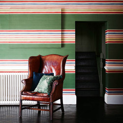Merchant House Stripe | Carta da parati | Zoffany
