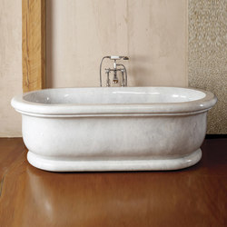 Roman Bathtub, Carrara Marble | Free-standing baths | Stone Forest