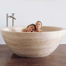 Round Bathtub | Vasche ad isola | Stone Forest