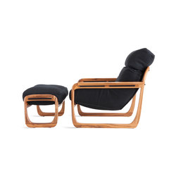 Pitu Chaise / Footstool | Lounge chairs | Sossego