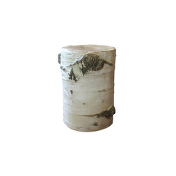 Aspen Stump Stool Table | Beistelltische | Pfeifer Studio