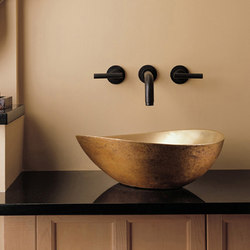 Papillon Vessel Sink, Golden Bronze | Wash basins | Stone Forest