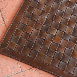 Viceroy Woven Leather Rug | Rugs | Pfeifer Studio