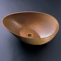 Papillon Vessel Sink, Weathered Bronze | Wash basins | Stone Forest