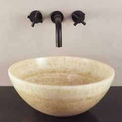 Urban Vessel Sink, Honey Onyx | Wash basins | Stone Forest