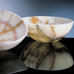 Urban Vessel Sink, Multi-Colored Onyx | Wash basins | Stone Forest