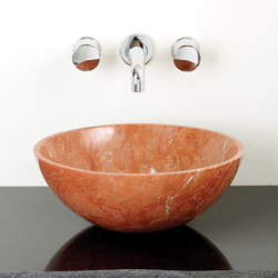 Urban Vessel Sink, Rojo Alicante Marble | Wash basins | Stone Forest