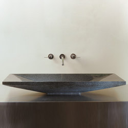 Verona Vessel Sink, Black Granite | Wash basins | Stone Forest