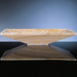 Verona Vessel Sink, Honey Onyx | Wash basins | Stone Forest