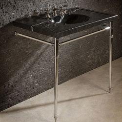 Vintage Washbasin, Nero Marquina | Mobili lavabo | Stone Forest