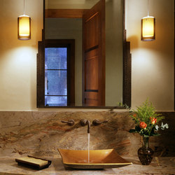 Zen Vessel Sink, Weathered Bronze | Wash basins | Stone Forest