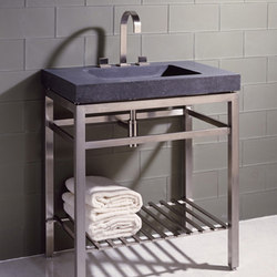 Slab Vanity, Honed Basalt | Wash basins | Stone Forest