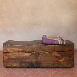 Contorno Solid Wood Bench | Bancs | Pfeifer Studio
