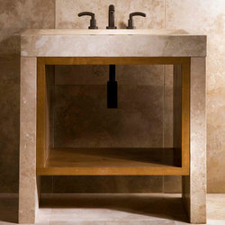 Siena Recesso Integral Sink | Lavabos mueble | Stone Forest