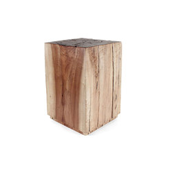 Corrales Cottonwood Cube | Tables d'appoint | Pfeifer Studio