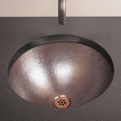 Self-Rimming Vessel Sink, Flat Rim, Copper | Éviers de cuisine | Stone Forest
