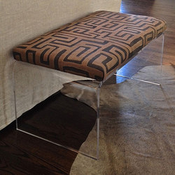Kuba Cloth Bench | Bancs d'attente | Pfeifer Studio