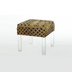 Kuba Cloth Stool | Polsterhocker | Pfeifer Studio